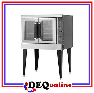 Vulcan Vc4ed 480v Single Deck Electric Convection Oven Stainless Steel Oven