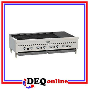 Vulcan Vccb47 Counter Gas Charbroiler 46 3 4 Wide natural Or Liquid Propane
