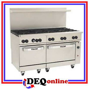 Vulcan 60ss 10b Endurance 60 Gas Restaurant Range Ten Burners Ng lp