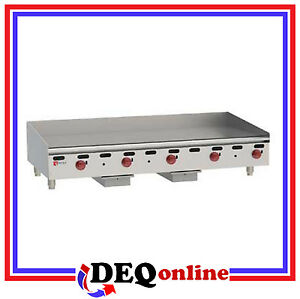 Wolf Agm60 Manual Control Heavy duty Gas Griddle 60 W X 24 D Griddle Ng Or Lp