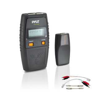 New Pyle Phct205 Network Cable Tester W Utp Ftp Bnc Coaxial Short Circuit