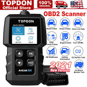 Autel Autolink Al319 Obd2 Code Reader Tool Scanner For Ford Gm Toyota Bmw Benz
