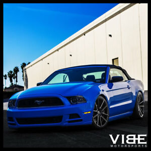 19 Sporza V5 Machined Concave Wheels Rims Fits Ford Mustang Gt Gt500