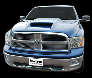 2010 2017 Dodge Ram 1500 Pickup Performance Air Hood Fiberglass Unpainted