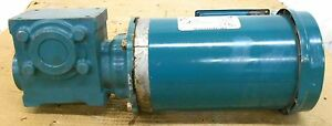 Reliance Electric P56h1474h Motor 2 Hp Tigear 2 17q05l56 Reducer 05 1 Ratio