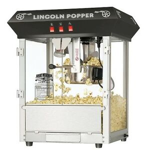 Commercial Popcorn Machine Professional Antique Popper Maker Heavy Duty Kettle