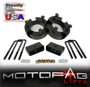 2 5 Front And 2 Rear Leveling Lift Kit For 1999 2006 Toyota Tundra Made In Usa