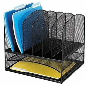Letter Tray Desk Top Files Paper Storage Products Mesh Desktop Organizer Office