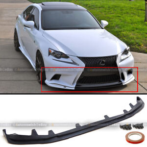 For 14 16 Is200t Is250 Is350 F Sport Only Sk Style Pu Front Bumper Lip Kit