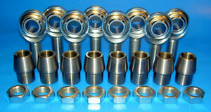 1 2 20 Thread X 1 2 Bore 4 Link Rod End Kit Heim Joints Bung 1 00 X 083
