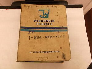 Wisconsin Gasoline Engine Service Parts Catalog Ttp 20134