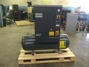 Atlas Copco Gx7 Rotary Screw Air Compressor