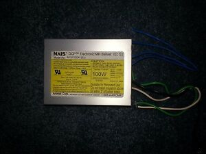 Nais M10012ck 3eu Ballast For 1 100w Ceramic Metal Halide Lamp