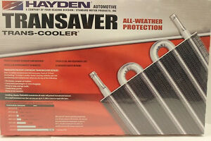 Hayden Transmission Cooler W install Kit oc 1240 6 1 2 X 18 X 1 1 2 Heavy Duty