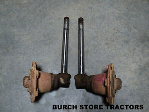 Farmall 140 Tractor Spindles With Hubs