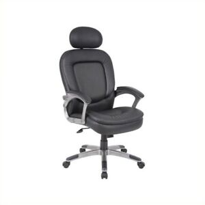 Boss Office Pillowtop Executive Office Chair With Headrest