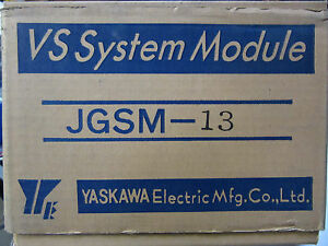Yaskawa Jgsm 13 Amplifier Module New In Original Box Free Shipping