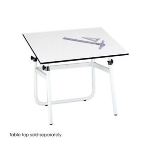 Safco Horizon Drawing Table Base Computer Desks Metal Tables