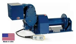Electric Hoist Winch 6 000 Lb Capacity 230 Volts Commercial Industrial