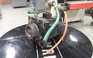 Used Yaskawa Y axis Servo Motor From A 1998 Busellato Super Junior Cnc Router