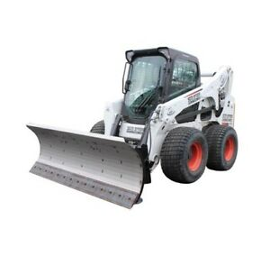 108 Hd Series Snow Plow For Skid Steer Loaders With Free Tire Studs