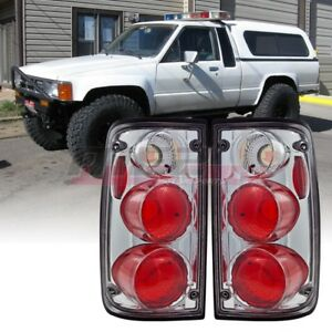 Winjet Oe Factory Fit For 1989 1995 Toyota Pickup Brake Tail Lights Clear