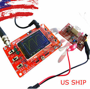 Fully Assembled na Dso138 2 4 Tft Digital Oscilloscope 1msps With Free Probe