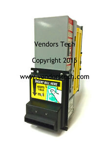 Mei Mars 2000 Series Ae 2411 New 5 Ready Bill Acceptor Validator New Belts
