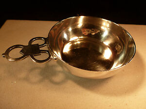 Currier Roby Sterling Silver Porringer Shreve Crump Low Hull Sanderson 1655