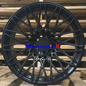 Xxr 553 Wheels 18 X 9 75 22 Flat Black Mesh Rims 5x114 3 Mitsubishi Evolution X