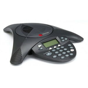 Polycom Soundstation2 Ex Display Analog 2201 16200 001 No Mics Refrb Warnty
