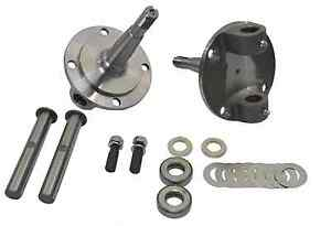 1928 1948 Ford Straight Axle Round Spindle With King Pin Kit Bushings Installed