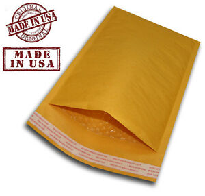 1000 000 4x8 Kraft Bubble Padded Mailers Shipping Self Seal Envelopes 4 X 8