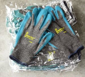 12 Pairs Wells Lamont Guard Tec 3 Cut Resistant Safety Gloves Size Large