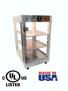 Commercial Food Warmer Heatmax 14x18x24 Pizza Pastry Patty Display Case