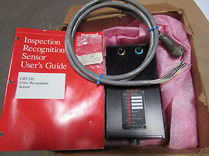 Honeywell Crs201 Color Sensor Inspection Recognition W manual Cable New