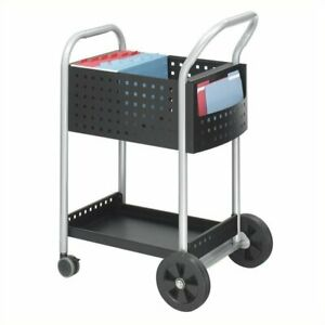 Filing Cabinet File Storage Scoot 20 w Mail Cart Transitional Accessories