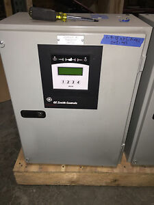 Ge Zenith Ztx Automatic Transfer Switch 80 Amp 3 Phase Mx150 Controller 208v