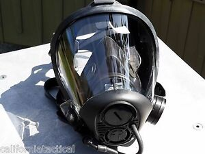 Survivair Opti fit Cbrn Gas Mask W drink Tube 40mm Nato 769020 Premium Nbc Mask