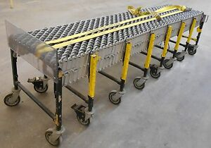 Best Flex 24 2 Length Portable Expandable Skate Wheel Roller Conveyor