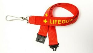 Kestronics 20mm Lifeguard Lanyard With Safety Break Away And Metal Clip