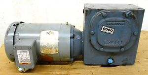 Boston Jutf b Gear Motor 1 1 2 Hp 1725 Rpm F73025sb7jjutfb Gear Reducer