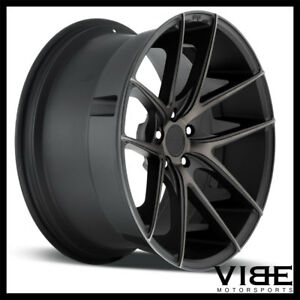 20 Niche Targa Machined Concave Staggered Wheels Rims Fits Acura Tl