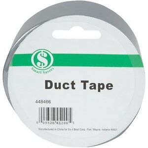 48 Roll Case 2 X 10 Silver Duct Tape Standard Grade Free Shipping