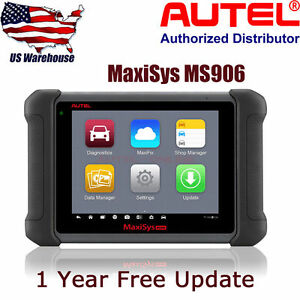 Original Autel Maxisys Ms906 Auto Diagnostic Scan Tool Better Than Ds708 Scanner