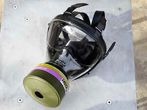 Sge 150 Gas Mask Kit W 40mm Nato cbrn Approved Filter Free Potassium Iodide