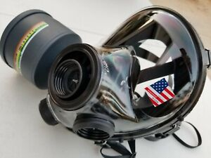 Small Sge 400 3 Gas Mask Full Kit Chemical suit New Filter Sealed