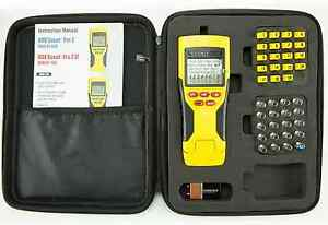 Klein Tools Tester Remote Electrical Tool Kit Voice Data Video Cable Measurer
