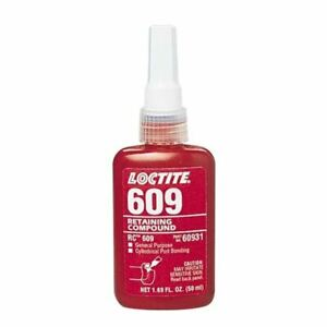 Loctite 50 Ml Bottle 609 General Purpose Retaining Compound