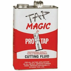 Tap Magic 30128p Protap Biodegradable Cutting Fluids Container Size 1 Gallon